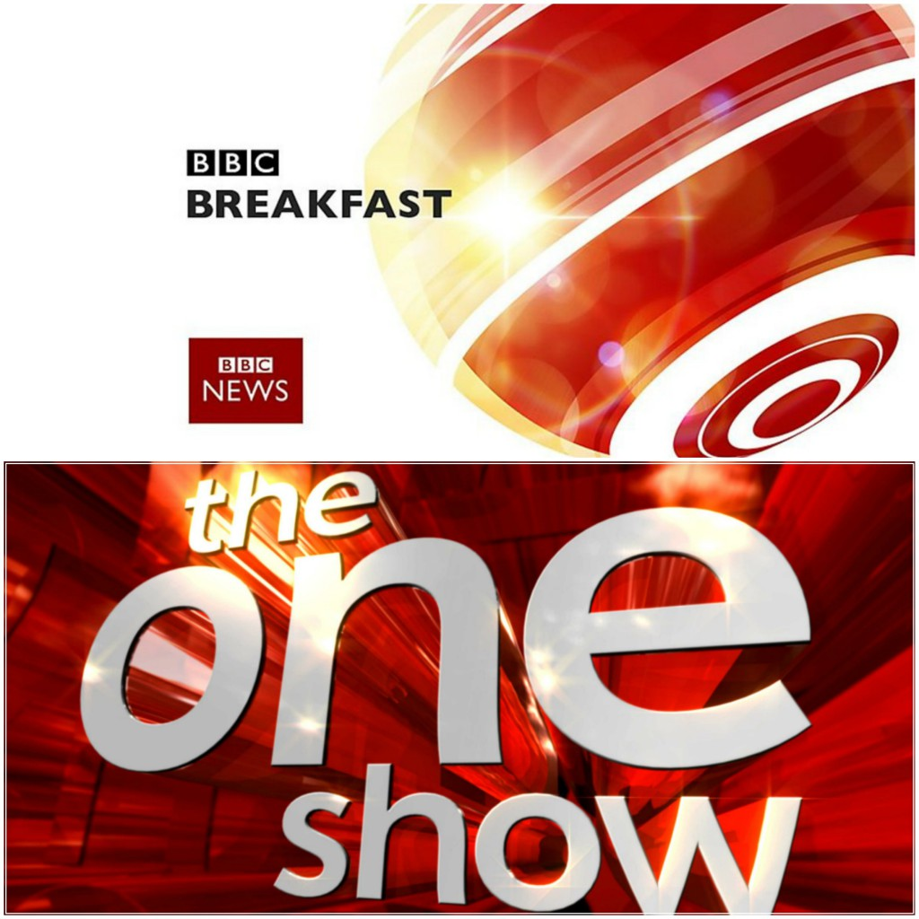 BBC Breakfast & The One Show Collage